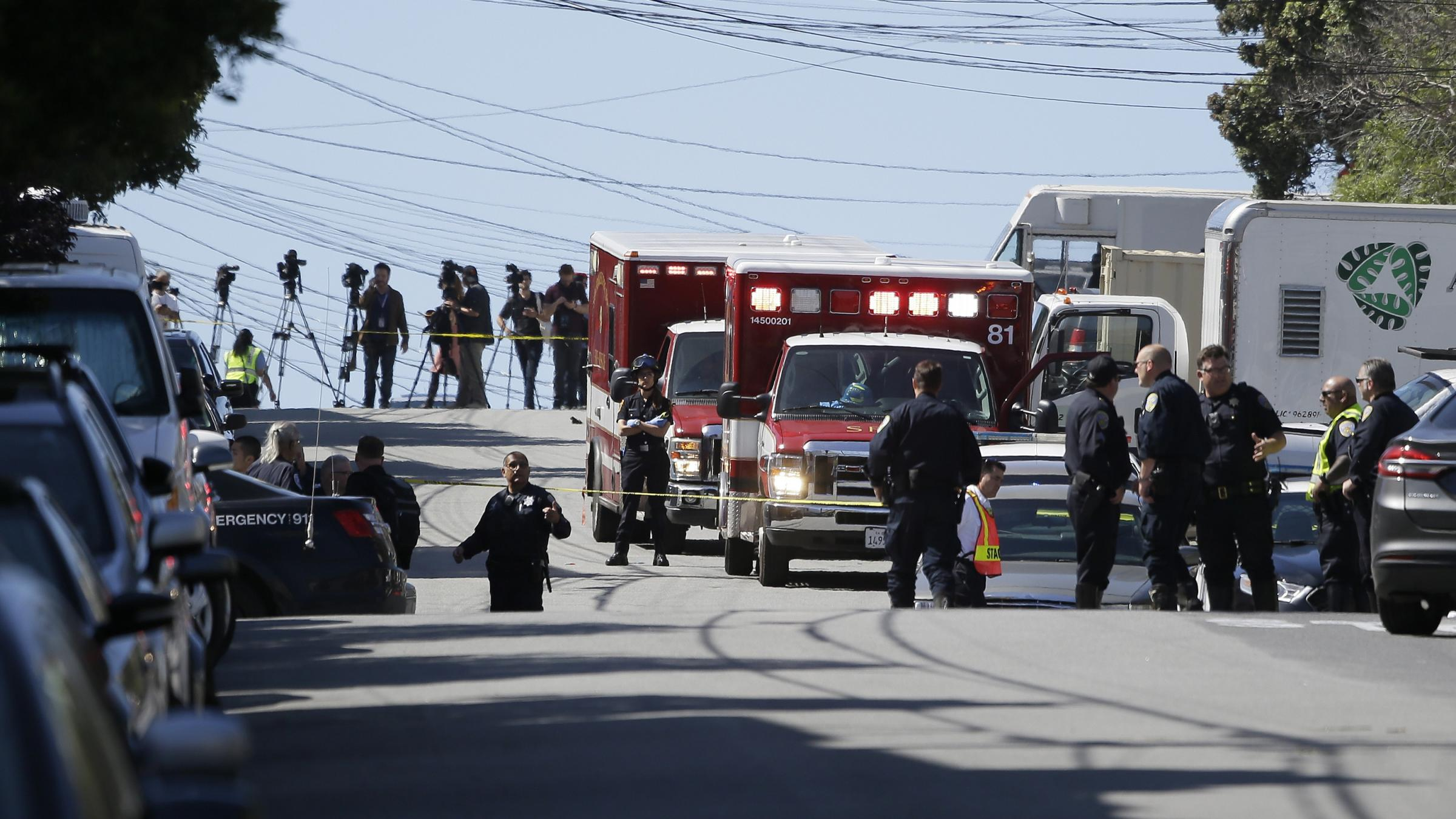 San Francisco UPS shooting leaves 4 dead, including gunman